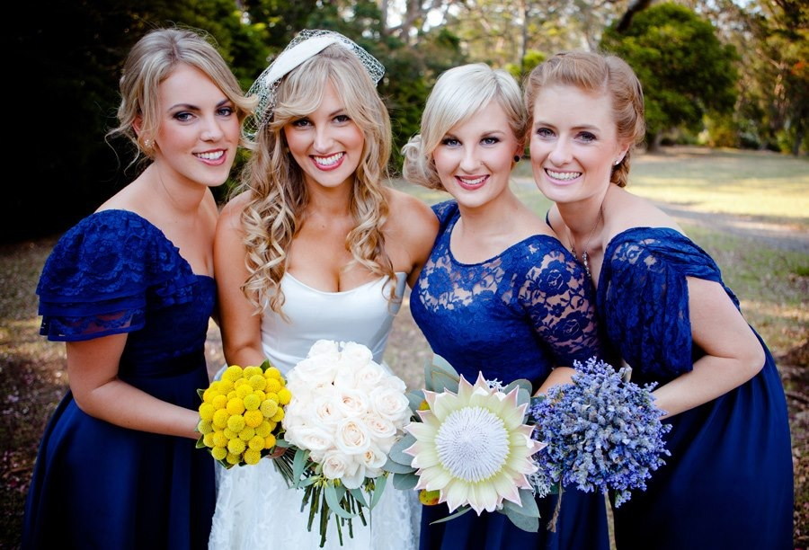 Gold Coast wedding hair and makeup – classic and modern